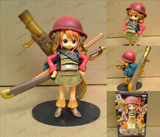 9 generaciones Nami-Movie Accesorios Accesorios Version One Piece mano 15cm que hacer