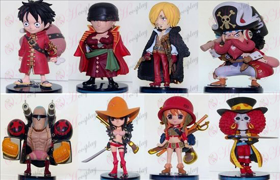 77 on behalf of eight pirate doll base 8cm