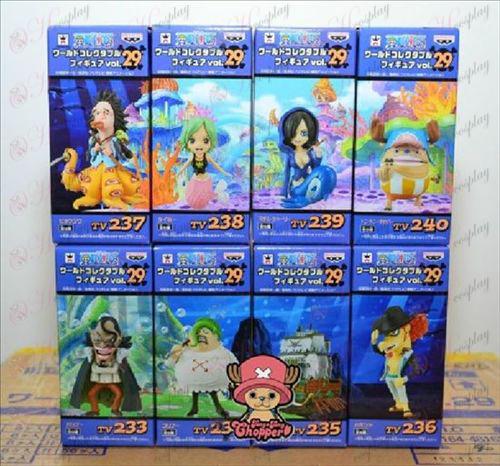 76 namens acht One Piece accessoires voor dames (doos)