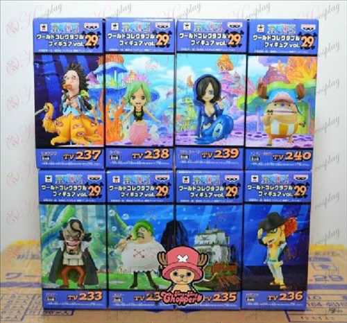 76 on behalf of eight One Piece Accessories Doll (box)