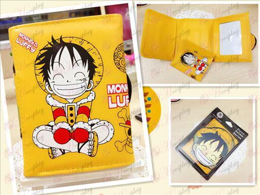 One Piece Accessories Luffy Q version of the bulk purse