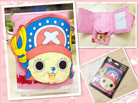 One Piece Accessories2 years Houqiao Ba eyes stud wallet