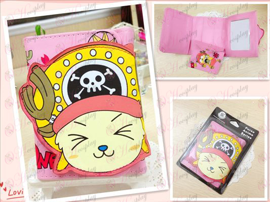One Piece Accessories2 years Houqiao Ba squinting bulk wallet