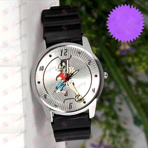 One Piece Accessories Luffy Mark Circle lines watches