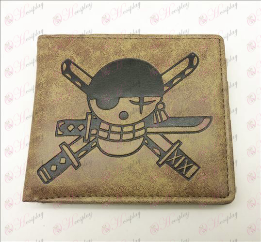 One Piece Accessories Sauron frosted wallet