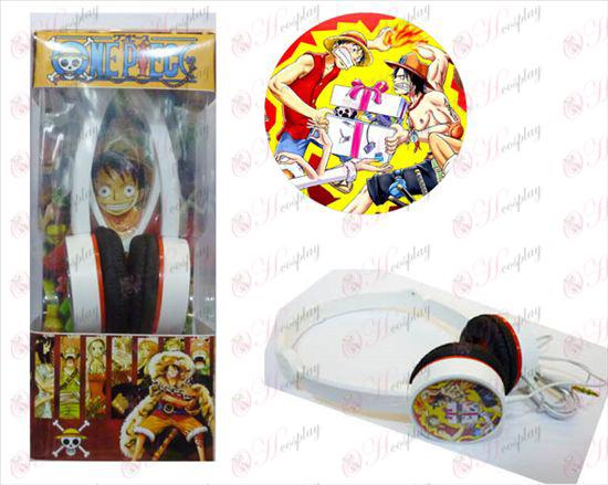 One Piece Acessórios Headphones -4