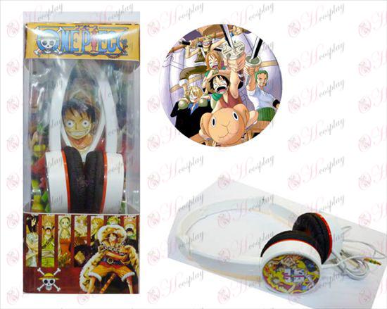 One Piece Acessórios Headphones -3