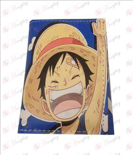 One Piece Tarvikkeet kertainen nahkalompakko