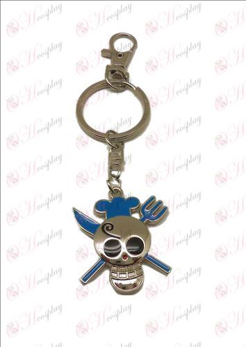 Sanji One Piece Accessories Keychain