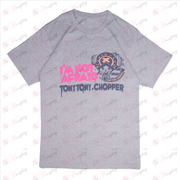 One Piece Tilbehør Chopper T-shirt (grå)