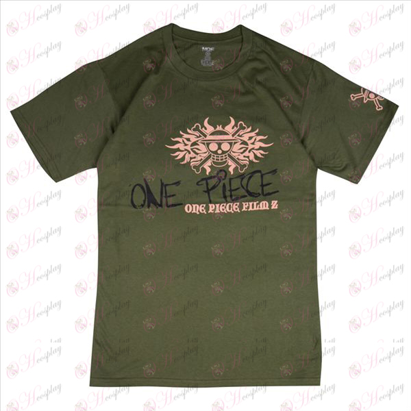 Sanji Pirates T-shirt (Army Green)