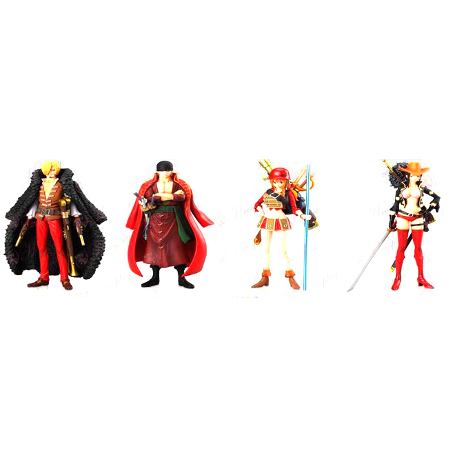 75 Generation 4 models One Piece Accessories (Red Theatrical down) 15cm