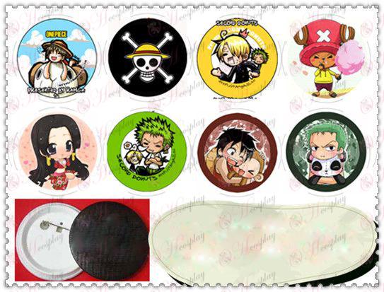 58MM Gyrosigma odznak-One Piece Príslušenstvo multiplayer verzia Q