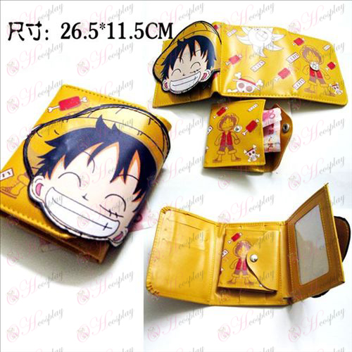 Luffy Q version of the wallet