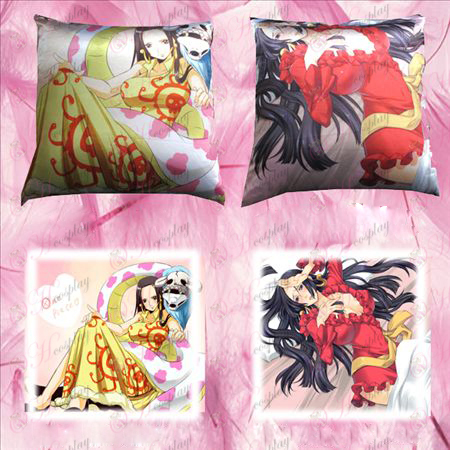 98 # full-color square pillow (One Piece Accessories Female Emperor)