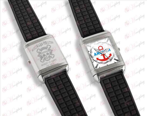 Dual literally flip watches (Luffy)