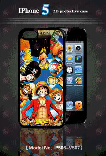 3D-s mobiltelefon shell Apple 5 One Piece tartozékok