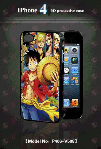 3D mobile phone shell Apple 4-One Piece Accessories-2