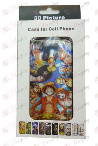 3D mobilný telefón Apple shell 4 One Piece Príslušenstvo