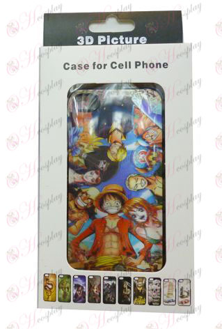 3D mobile phone shell Apple 4-One Piece Accessories