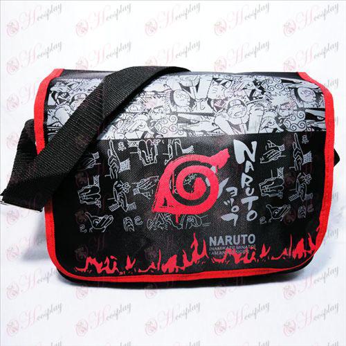 Naruto Konoha bolsa de plástico Li dotados
