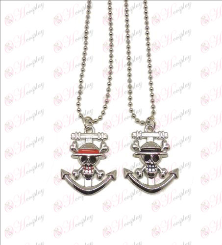 Blister Luffy couple necklace