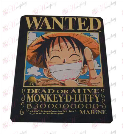 One Piece Accessories Mouse Pads (6 sets)