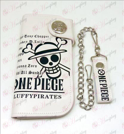 One Piece Dodatki velika denarnica (bela)