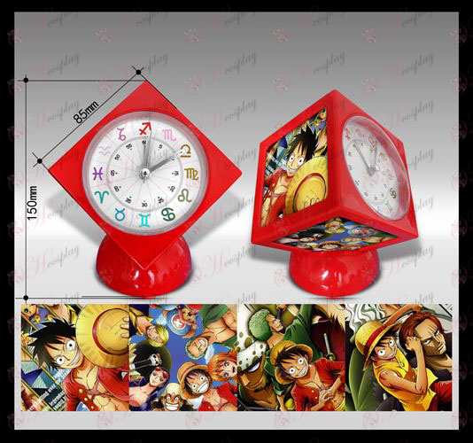 One Piece Accessories cube alarm clock
