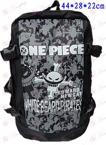 B-301One Piece Accessories Backpack white beard