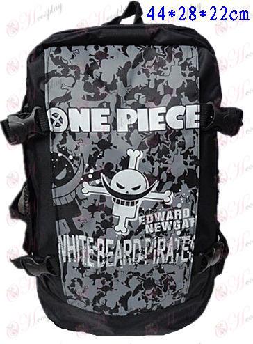 B-301One Stuk Accessoires Backpack witte baard