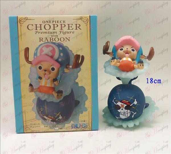 Baleia Chopper mão 18 centímetros para fazer