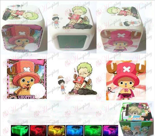 One Piece Accessories Chopper 3 surface color colorful alarm clock