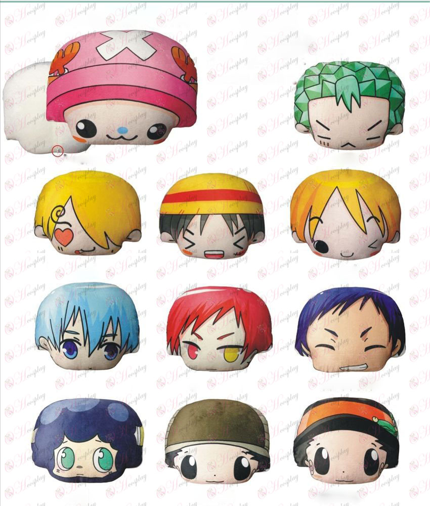 Q version of the ultra-Meng avatar pillow (optional section) a