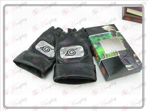 Naruto kakashi lengthened leather gloves