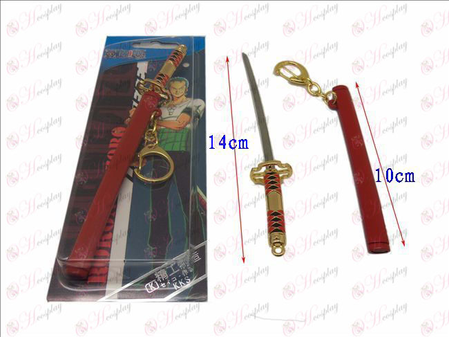 DOne Piece Accessories ghost Toru sheath knife buckle (HO (red)