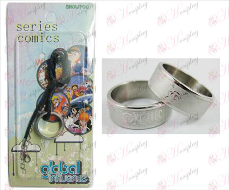 One Piece Chopper Zubehör Frosted Ring Halskette - Rope