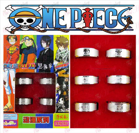 One Piece Accessories Ice Frosted Ring (6 / set)