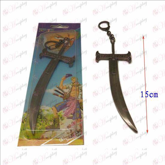 DOne Piece Accessories Hawkeye knife buckle (gun color