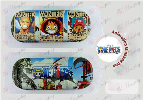 One Piece Accessories arrest warrant glasses case