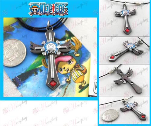 Chopper gun color necklace