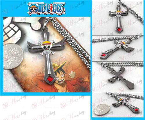 Pirate skull king machine gun color rope