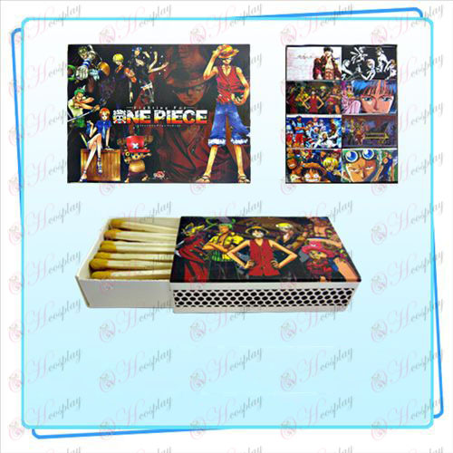 Packed One Piece Accessories matches (small box containing 8) random pattern