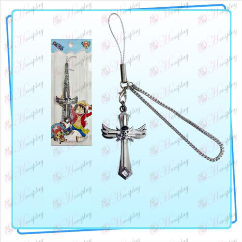 One Piece Accessories Sauron symbol wings Cross Strap