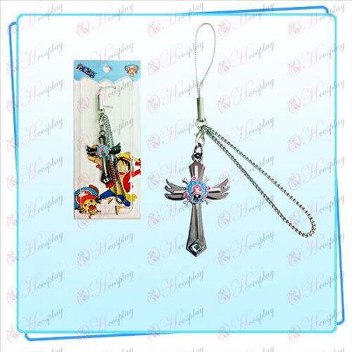 One Piece Accessories Chopper logo wings Cross Strap