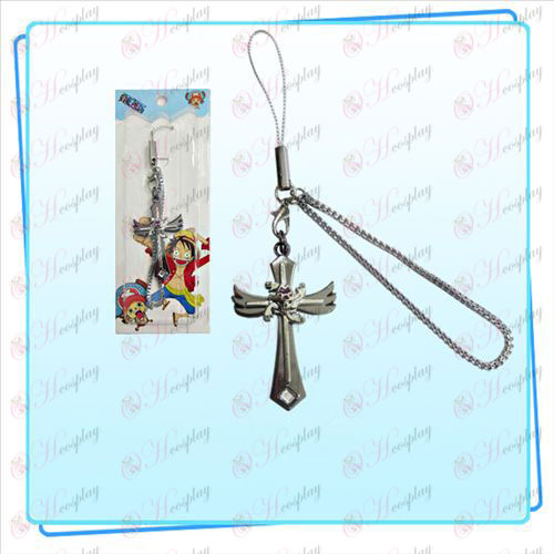 One Piece Accessories Robin flag wings Cross Strap