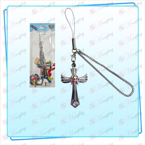 One Piece Accessories Frankie flag wings Cross Strap