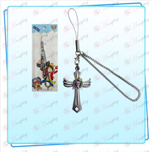 One Piece Zubehör Brook Flagge Flügel Cross Strap