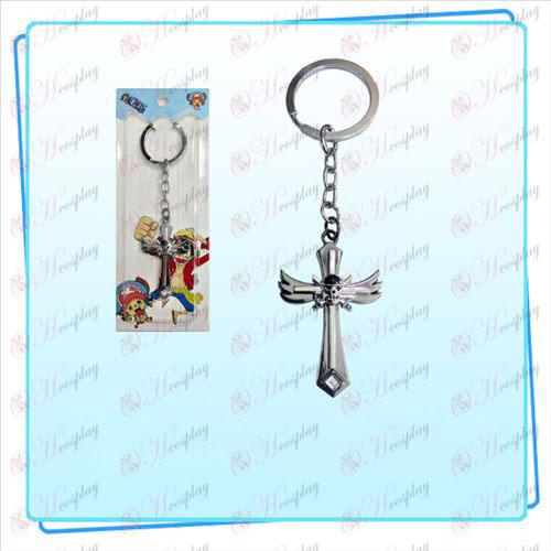 One Piece Tarvikkeet Sauron symboli siipi rajat avaimenperä