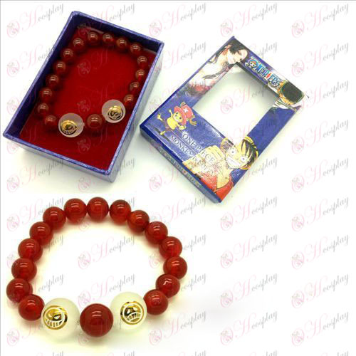 One Piece Accessories Ice Natural red agate crystal bracelet